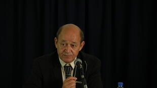 French Defence minister Jean-Yves Le Drian, files 2011.