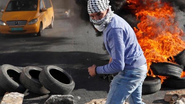 La décision de Donald Trump de faire de Jérusalem la capitale d'Israël provoque la colère des Palestiniens depuis plusieurs jours.