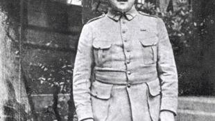 Гийом Аполлинер на фронте Первой мировой войны