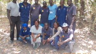 Les douze otages retenus en Casamance.