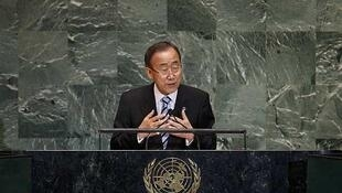 """El secretario general de la ONU, Ban  Ki-moon, condenó este martes las amenazas de guerra entre Irán e Israel, al  afirmar que cualquier conflicto sería """"devastador""""."""
