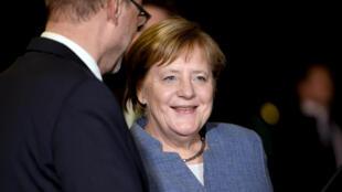 Ảnh minh họa : Thủ tướng Đức Angela Merkel.