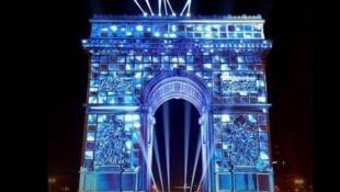 辞旧迎新,巴黎凯旋门将上演一场大型声光秀和烟花表演              2019年12月31日