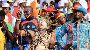 Congolese supporters