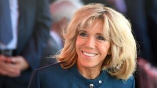 Жена президент Франции Брижит Макрон