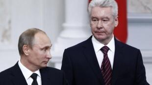 Мэр Москвы Сергей Собянин в день инаугурации 12/09/2013
