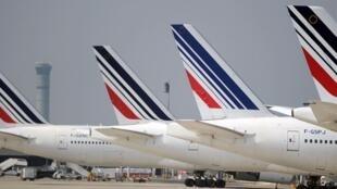 """Air France promete """"zona de turbulências"""" em Junho"""
