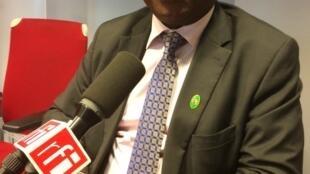 Martin Ziguélé, ancien Premier ministre de la République centrafricaine (de 2001 à 2003).