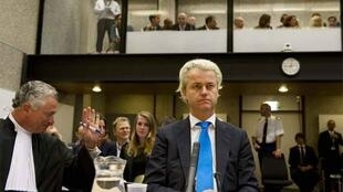 Geert Wilders in court