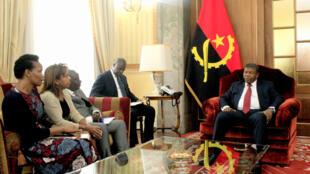 O Presidente da República de Angola, João Lourenço, recebeu hoje as organizações da sociedade civil.