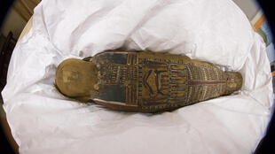 The mummy of Ta-Iset found in Rueil-Malmaison in 2001