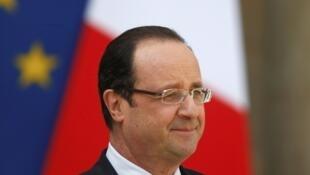 Le président de la République François Hollande, le 2 mai 2013.