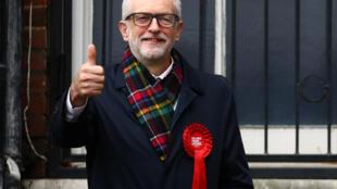 جرمی کوربین رهبر حزب کارگر بریتانیا