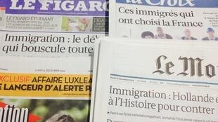 Primeiras páginas jornais 15/12/2014