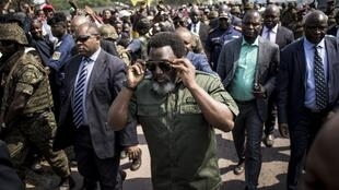 Le président de RDC Joseph Kabila, le 30 septembre à Kinshasa.