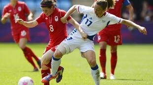 Футбол, Франция – Канада, матч за бронзу, 9 августа 2012 года