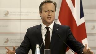 O primeiro-ministro David Cameron vai apresentar sua proposta de referendo ao Parlamento na quarta-feira, 27 de maio de 2015.