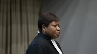 Fatou Bensouda, procureure de la CPI, le 6 décembre 2016.