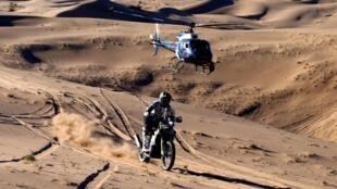 Dakar Rally - Stage 1 - Jeddah - Al Wajh, Saudi Arabia, 5 January 2020. Andrew Short in action during stage one