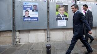 Кандидат в президенты Франции от партии «Республиканцы» Франсуа Фийон