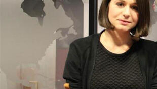 La journaliste russe Elena Servettaz.