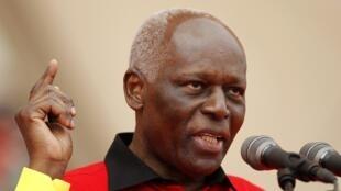 José Eduardo dos Santos, Presidente da República de Angola.