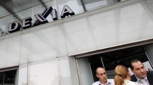 A sede do grupo financeiro franco-belga Dexia.