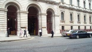 Entrance to the Foreign and Commonwealth Office