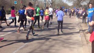 Le semi-marathon de Paris, le 8 mars 2015.