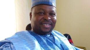 Fitaccen dan wasan fina-finan Hausa a masana'antar Kannywood Rabi'u Rikadawa.