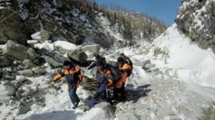 Гражданин Франции погиб в воскресенье при сходе лавины с горы Мамай в Бурятии