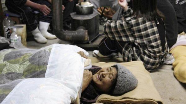 日本:2011年3月19日-一處災民接待中心