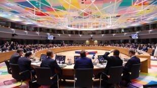 Nguyên thủ và lãnh đạo các nước châu Âu và châu Á họp thượng đỉnh ASEM 2018, Bruxelles, Bỉ.