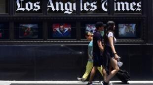 Редакция газеты Los Angeles Times