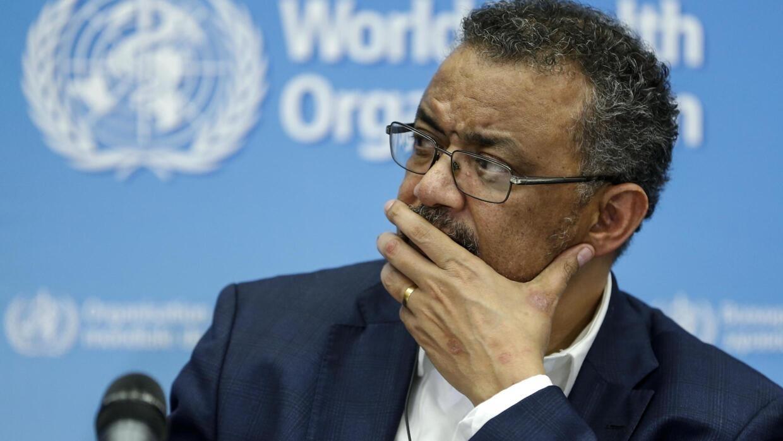 Tổng giám đốc Tổ chức Y tế Thế giới Tedros Adhanom Ghebreyesus tại cuộc họp khẩn tại Genève ngày 22/01/2020 về tình hình dịch virus Corona bùng phát từ Trung Quốc;