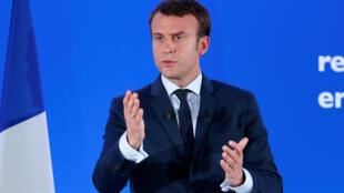 Dan takarar shugabancin Faransa Emmanuel Macron da ke samun magoya baya.