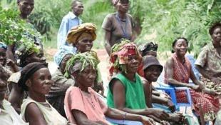 Journée internationale de la femme rurale, Kinshasa (RDC).