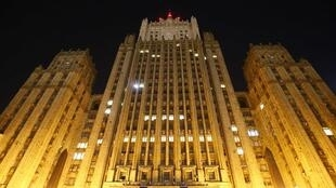 Здание МИД России на Смоленской-Сенной площади в Москве