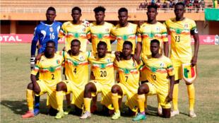 L'équipe nationale U20 du Mali.
