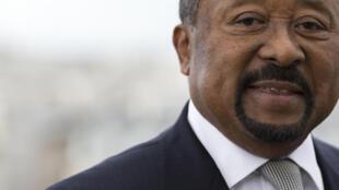 加蓬反對派總統候選人讓•平 Jean Ping.