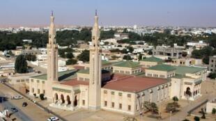 Vue aérienne de la ville de Nouakchott, la capitale de la Mauritanie. (Image d'illustration)
