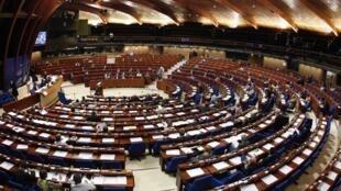 Зал заседаний ПАСЕ. Страсбург.