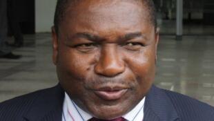 Filipe Nyusi, Presidente de Moçambique e do partido no poder Frelimo