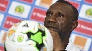 Florent Ibenge, sélectionneur du la RDC lors de la CAN 2017.