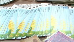 Quadrilha internacional de cambistas foi apreendida por vendas ilegais de ingressos na Copa.