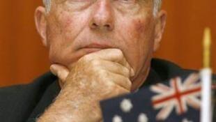 O vice-primeiro-ministro da Austrália, Warren Truss.