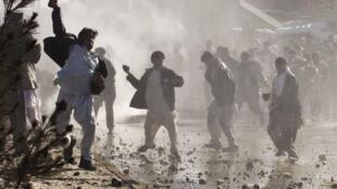 Manifestantes protestam contra queima do Corão em Cabul
