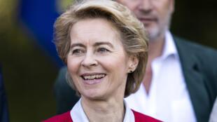 Ursula von der Leyen, à Genval, le 12 septembre 2019.