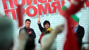 Корнелия Нинова, лидер БСП, выступающая за снятие санкций с России, не смогла привести партию к победе