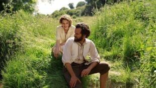 Hélénè (Céline Sallette) and (Georges) Romain Duris enjoy one of the brighter-lit moments in Cessez-le-Feu, Cease-fire